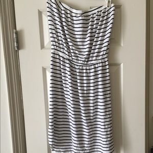 Blue and white small old navy dress